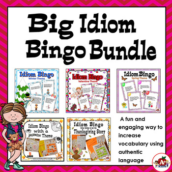 Big Idiom Bingo Bundle