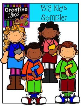 Big Kids Sampler {Creative Clips Digital Clipart}