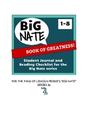 Big Nate - Book of Greatness! Reading Journal