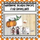 Big Pumpkin Stick Puppets and Class Book for Halloween