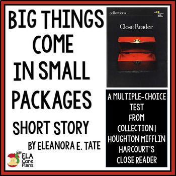 """""""Big Things Come in Small Packages""""~ Quiz for short story"""