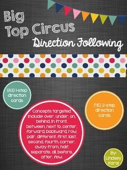 Big Top Circus Direction Following