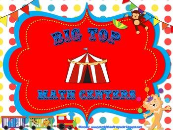 Big Top Math Centers