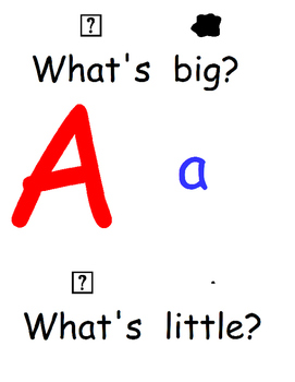 Big and Little ABC, Dr. Seuss (Letter, Big/Little), Loud/Soft