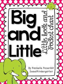 """Big and Little"" Little Book & Pocket Chart Set"