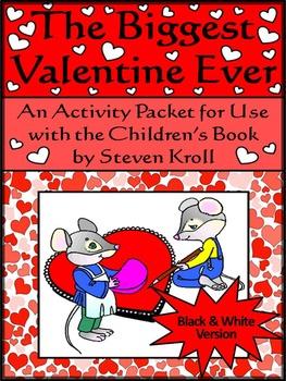 Biggest Valentine Ever Activity Packet