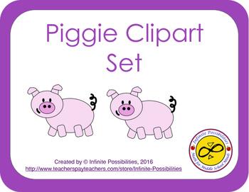 Piggie Clipart With Bonus Poke Worksheet Templates