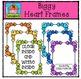 FREE Biggy Heart Frames {P4 Clips Trioriginals Digital Clipart}