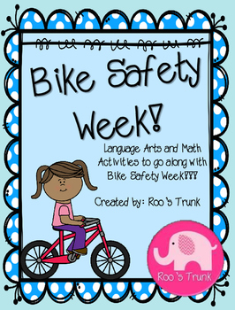 Bike Safety Activity Pack