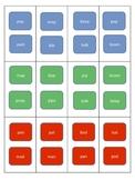 Bilabial Candy Land cards