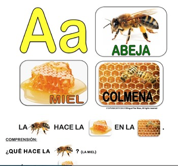 Bilingual Alphabet Conversation Cards