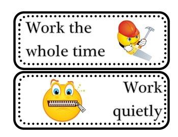 Bilingual Centers Behaviors--Daily Five, CAFE, Reader's Workshop