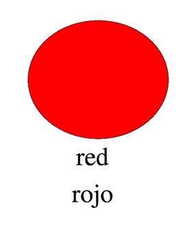 Bilingual Colors English and Spanish PDF