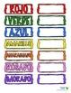 Bilingual Colors or Los Colores Wall Art