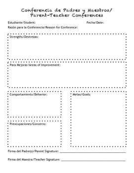 Bilingual Conference Form