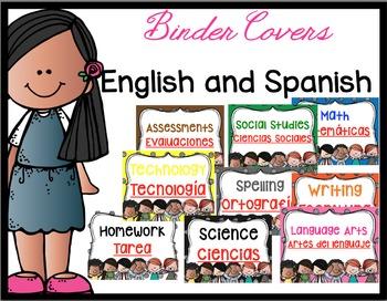Bilingual Cover Binders