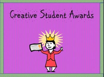 Bilingual Creative Student Awards Bundle/Premios para lumn