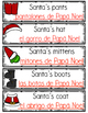 Bilingual December Words For The Month