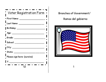 Bilingual / Dual Language: Branches of Government / Ramas
