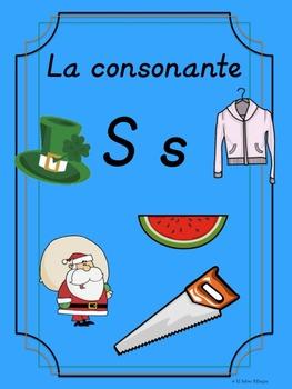 Bilingual Dual Language D'Nealian Silabas con Ss-- sa se si so su