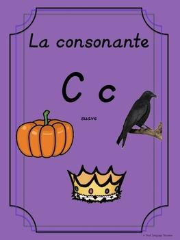 Bilingual Dual Language D'Nealian Silabas con C suave-- ca co cu