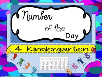 Bilingual Dual Language Kindergarten Number of the Day in