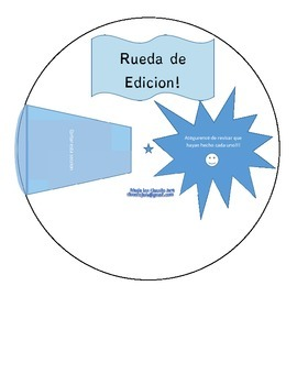 Bilingual Editing Wheel