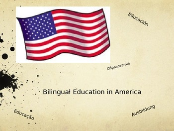 Bilingual Education Information