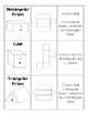 Bilingual - Geometric Solids and Nets (English and Spanish)