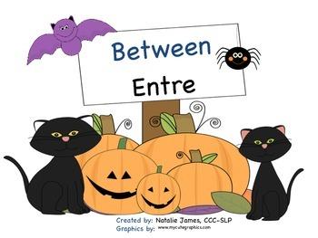 Bilingual (Spanish/English) Halloween Between Concept Inte