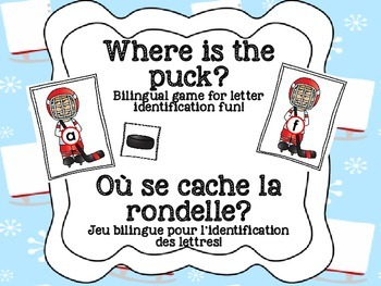 Bilingual Letter-Identification Game: Hockey!