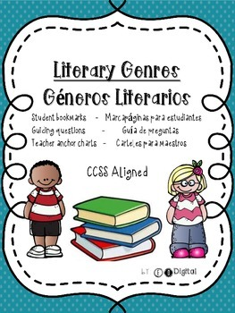 Bilingual Literary Genres Common Core Aligned Packet - in