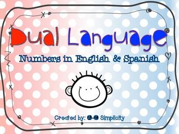 Dual Language Number Posters 1-1,000