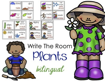 Bilingual Plants Write The Room