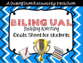 Bilingual ELA Reading and Writing Goals