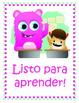 Bilingual Spanish Monster Themed Behavior Management Chart
