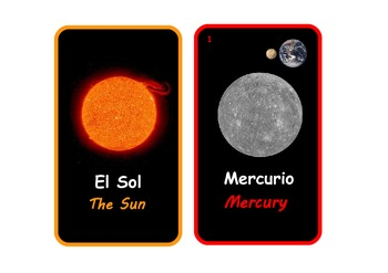 Bilingual Spanish and English:The Solar System