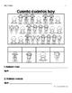 Bilingual Spring Counting Activity (Actividades de contar