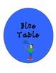 Bilingual Table Labels (Kids/Bright Colors Theme)
