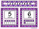 Bilingual Ten Frames-Numbers 1 to 10-Pink