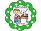 Bilingual What To Do Next Bilingual Chart-Polka Dot Theme (Green)
