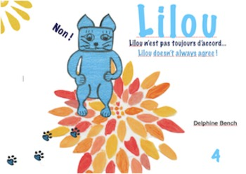 Bilingual book and tool (English-French) for children from