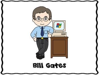 Bill Gates (Inventor Report Graphic Organizers)