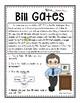 Bill Gates Reading Passage