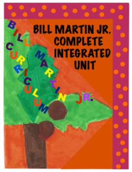 Bill Martin Jr. Literacy and Math Activities  (CCSS Aligned)