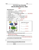 Bill Nye Science Guy Movie - Climate. Video Worksheet & Ke
