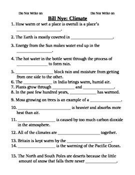 Bill Nye Climate