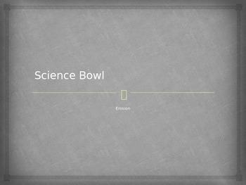 "Bill Nye Erosion ""Science Bowl"" game"