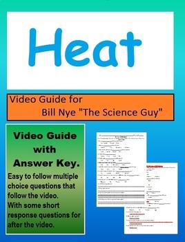 Bill Nye: Heat, Thermal Energy Video sheet