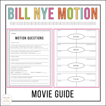 Bill Nye Motion Video Comprehension